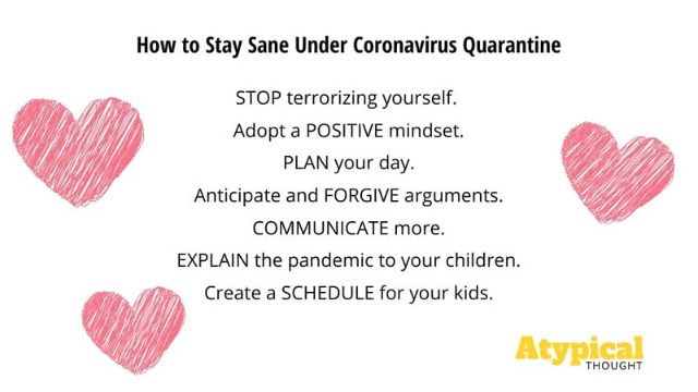 Staying Sane in Quarantine Recap
